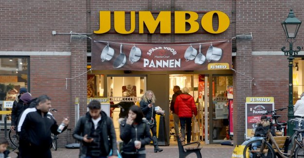Jumbo sees sales rise strongly in coronatijd, La Place, will remain behind