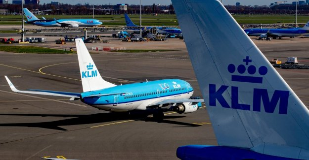 KLM be suffering recordverlies of nearly 800 million euros in the first half of the 2020