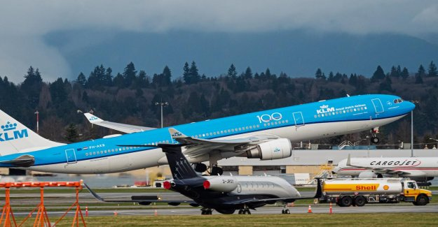 KLM royal Dutch airlines will, for the first time since the coronacrisis again, passengers flying to China