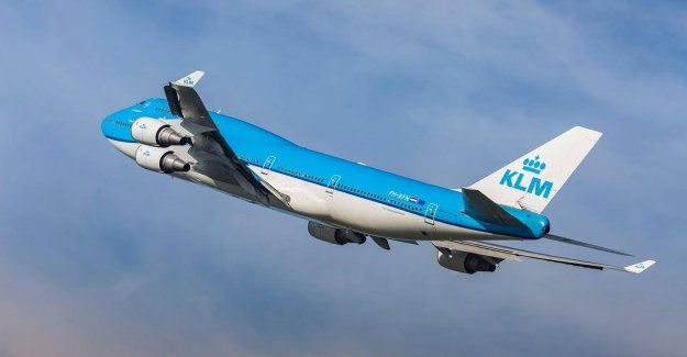 KLM will operate service to more destinations, the number of flights, not at the old level