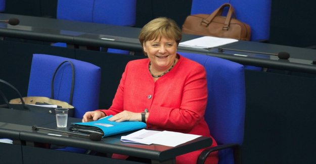 Merkel cites progress in Brexit talks on his (to put it mildly, limited,'