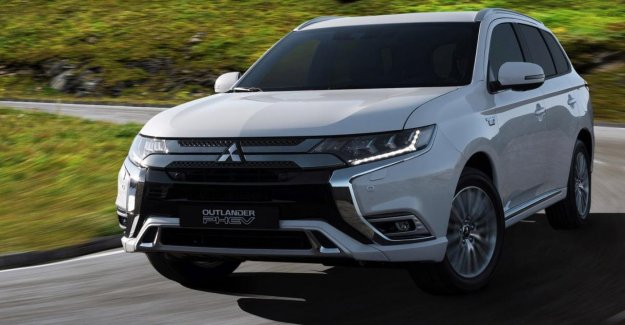 Mitsubishi does not have the new models in Europe