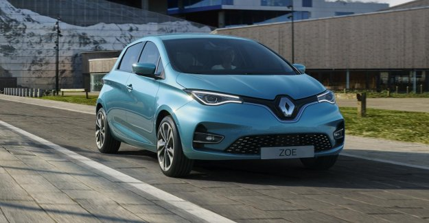 Renault Zoe lost Tesla's Model 3 as the best-selling electric car in Europe