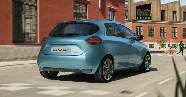 Renault's sales in the first half of the year, almost a 35 per cent reduction in cars