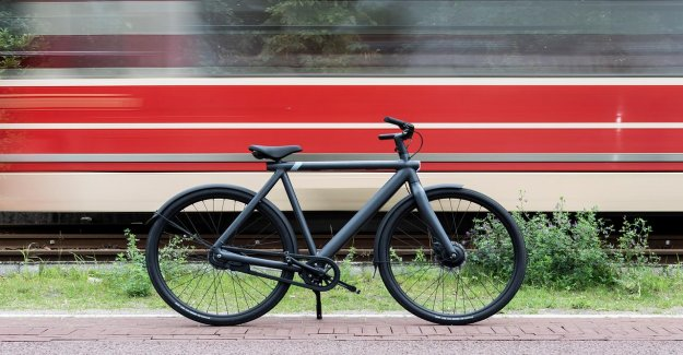 Review, VanMoof S3 (e-pool: 'it is Not the most practical, the most beautiful'