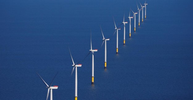 Royal Dutch Shell and the energy company Eneco to build subsidieloos wind farm on the North sea coast
