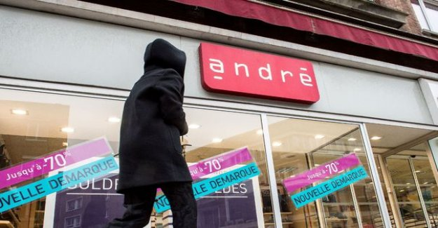 Shoes André : the one-time offer of recovery validated, 221 jobs, and 55 stores saved