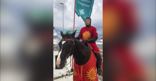 Swedish island have hired knights