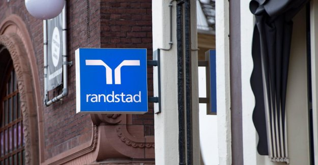 Temporary employment agency Randstad, see the lockdowns and again head off