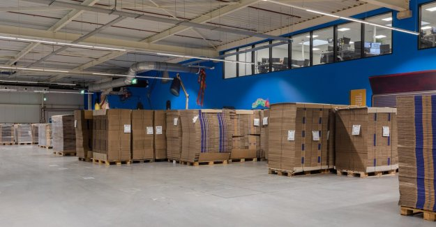 Tens of thousands of packages later, worried by the invasion and distribution centre bol.com