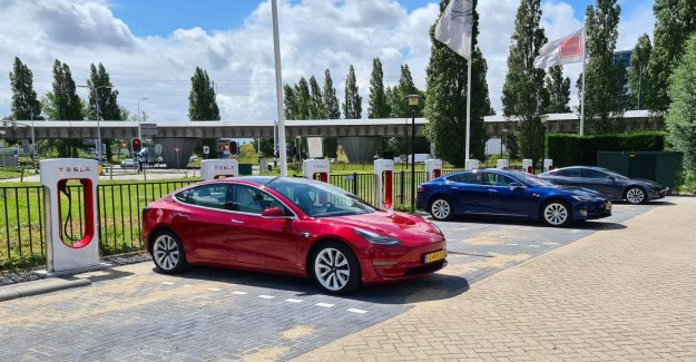 Tesla opens up fast chargepoint's newest type of in the Netherlands