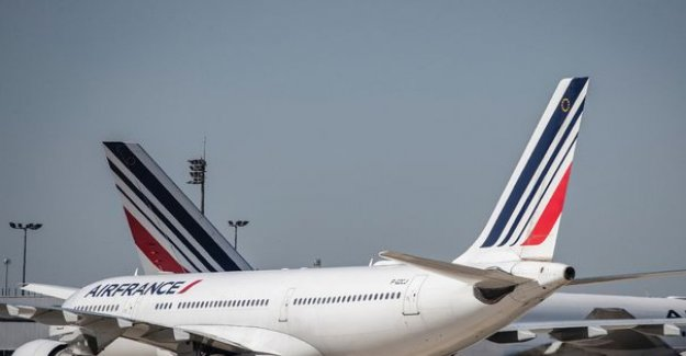 The air traffic to paris in decrease of 93.2% compared to the month of June 2019