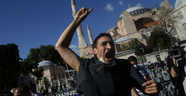 The church which should save Erdogan