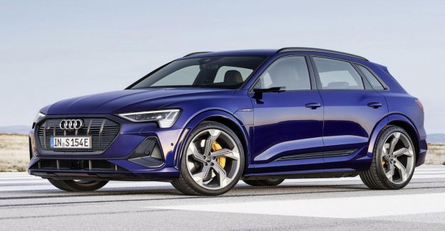 The electric Audi e-tron, will have three electric motors