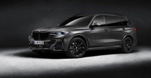 Three copies of the special, the BMW X7 will go to the Netherlands