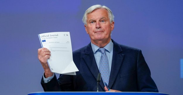 Trade agreement between the EU and the UK 'unlikely to occur', mr Barnier criticises the British