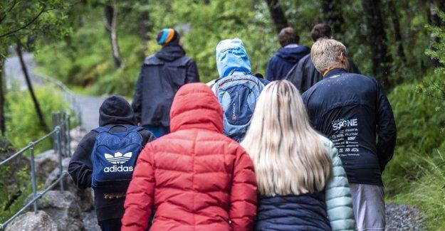 Visitor numbers drop at Preikestolen