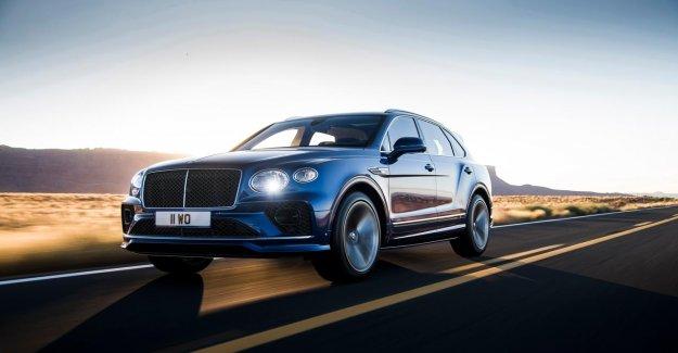 635 hp to the new Bentley Bentayga Speed