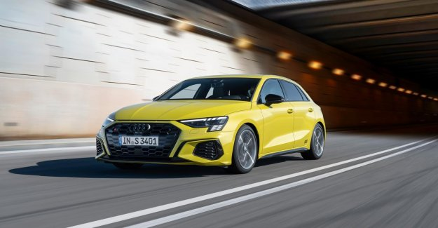 Audi is presenting the 310 hp S3