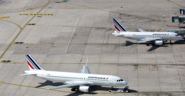 Coronavirus : the pilots of Air France have seen their earnings decrease of 25% to 40%