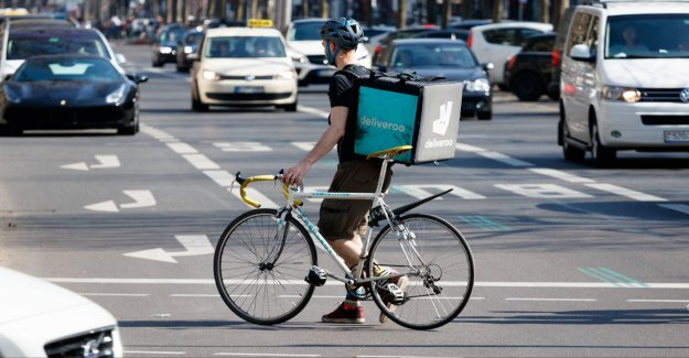 In the Amazon, is the co-owner of a delivery service Deliveroo
