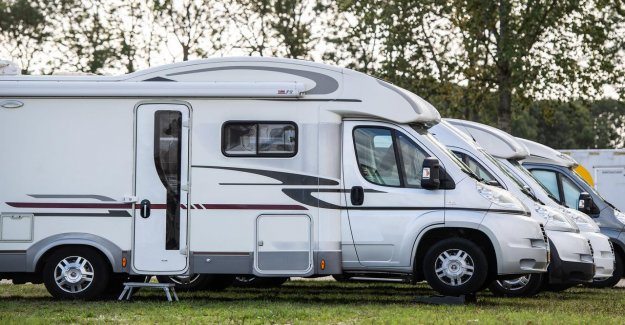 In the netherlands there are a record number of more than 135,000 people, campers