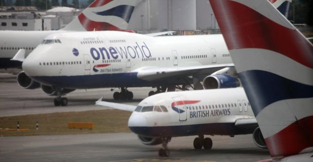 Pilots at British Airways are in agreement with the salary reduction, will be, and layoff