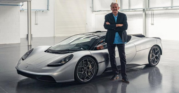The legendary sportwagenontwerper Gordon Murray presents the T. 50