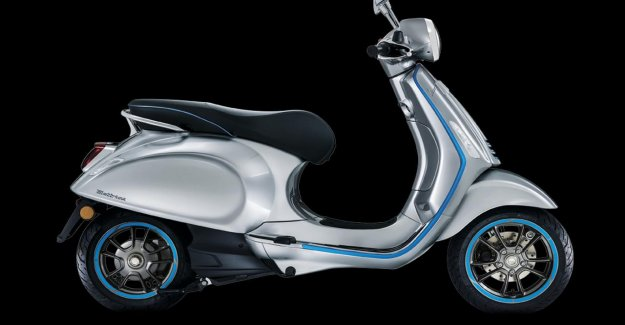 Vespa Elettrica, in reality, a Large range, but the high noise level