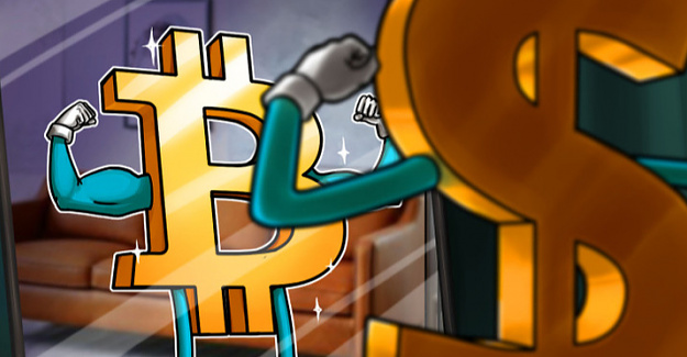 U.S. dollar weakness is painting a bullish short term prognosis for Bitcoin in April