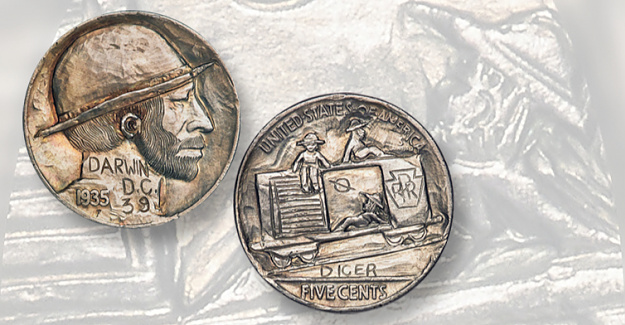 Heritage offers Dempsey Collection of Hobo nickels