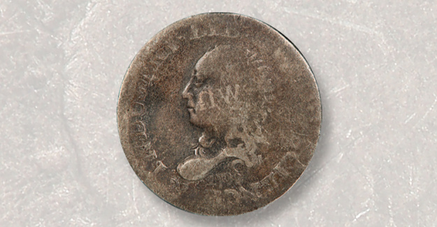 1792 half disme Purchased for under $1 Retails for $104,625
