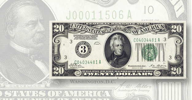 1927 letter Shifted the faces future U.S. small-size notes