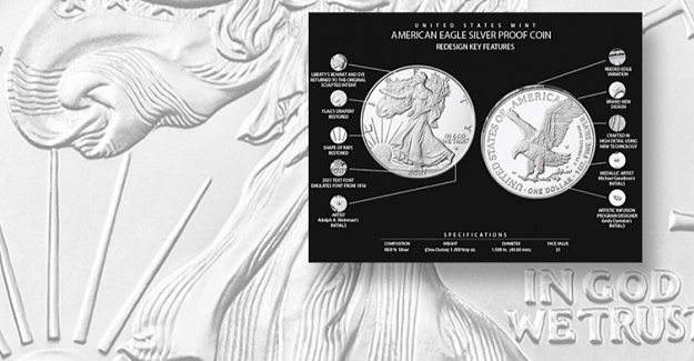 Mint unveils new graphics for American Eagle design changes