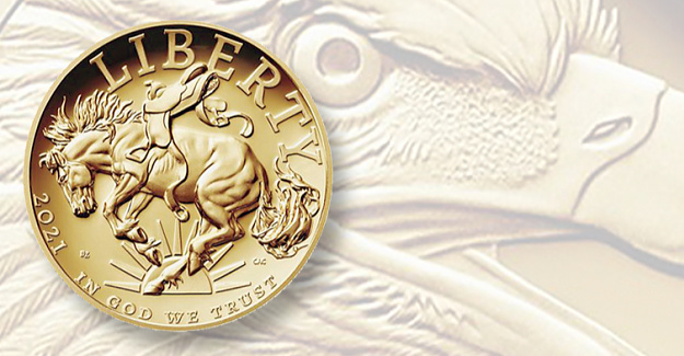August 19: New American Liberty coin design