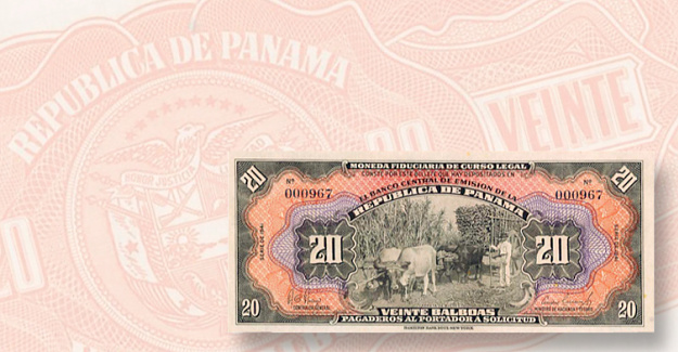 Highlights of the Stack's Bowers Panamanian sale: Panamanian notes