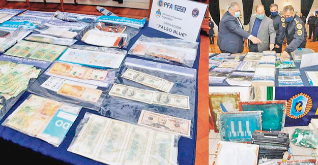 Argentina closes counterfeit note printing operations