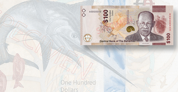 Bahamas completes the rollout of its new bank note family
