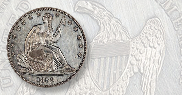 Half-dollars from the Boylston Collection of Seated Liberty at Regency 48 Sale