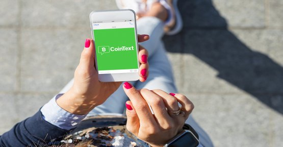 CoinText: Bitcoin to Cash by sending SMS