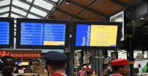 Reforms of the pensions of railwaymen : meeting under pressure