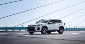And converted to the Toyota RAV4, is the largest Suzuki ever