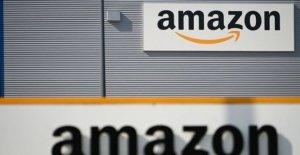 Building permit obtained through Amazon for a warehouse near Nantes