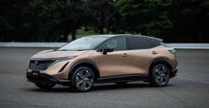 Nissan presents-electric crossover, with a driving range of 500 miles