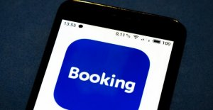 The number of bookings made by online travel platform for Booking.com makes a nose-dive