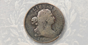 Market Evaluation: Rare half Penny in About Good 3 still appealing