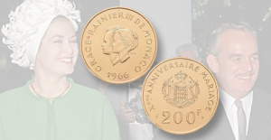 Gold Problem from Spink recalls fairy-tale Union of Grace Kelly