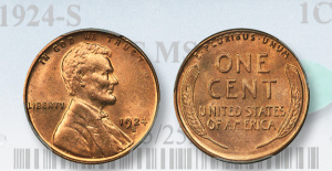 Market Analysis: 1924-Scent in PCGS MS65 red