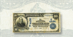 Surprise discovery: Texas National Bank Note