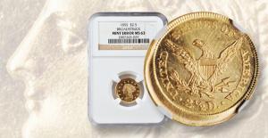 Market Analysis: An 1855 broadstruck gold quarter eagle